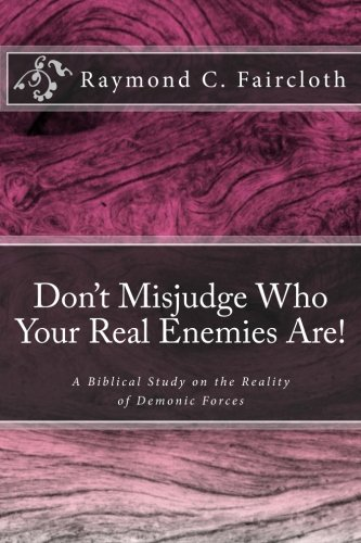 Don't Misjudge Who Your Real Enemies Are!: A Biblical Study on the Reallity of Demonic Forces (Concise Studies in the Scriptures) (Volume 4)