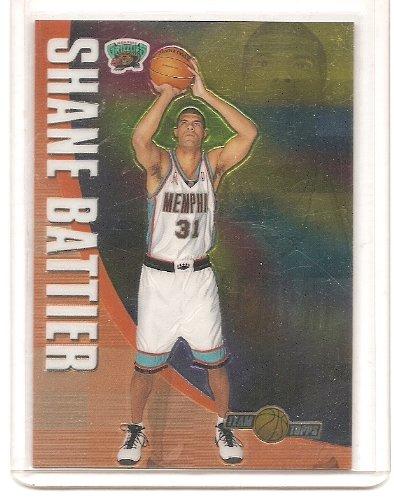 Shane Battier 2001-02 Topps Chrome Team Topps Insert Card #TT11