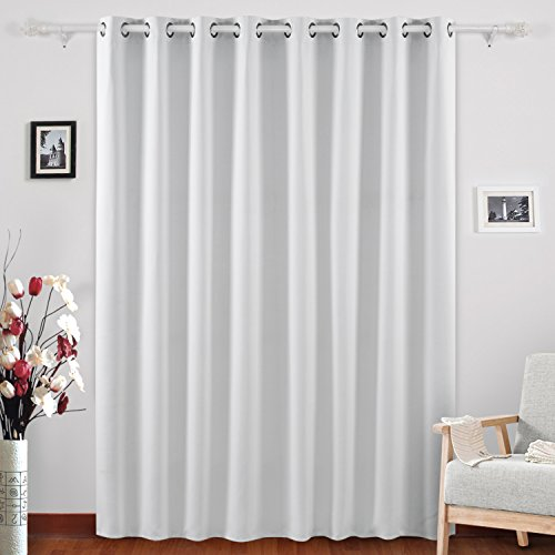 Save 6 Deconovo Blackout Drape Wide Width Grommet Curtains Bedroom Curtains For Windows 100