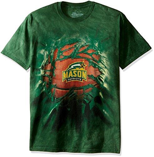 - The Mountain Men's Big and Tall George Mason University Basketball Breakthrough, Green 5XL