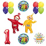 Teletubbies 1st birthday LAA-LAA & PO Balloon Birthday Party supplies and Decorations