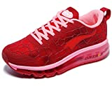 Cheap ONEMIX Women's Air Cushiong Running Shoes,Lightweight Sport Athletic Sneakers,Wine Red,Men 5(M)US 37EU/women 6.5(M)US 37EU