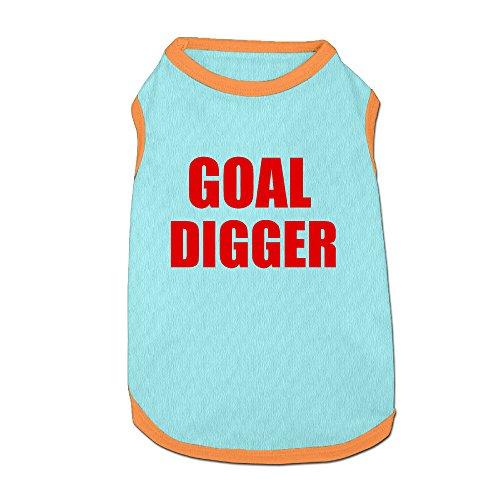 (Goal Digger Pet Dog 100% Fleece Vest Clothes SkyBlue Large)