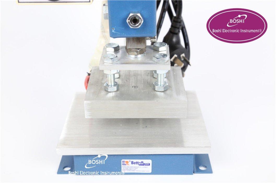 Boshi Electronic Instrument 810 Stamping Machine,leather printer,Creasing machine,hot foil stamping machine,marking press,embossing machine(8x10cm)