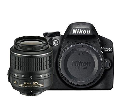 Nikon D3200 - Cámara réflex digital de 24 Mp (pantalla 2.9 ...