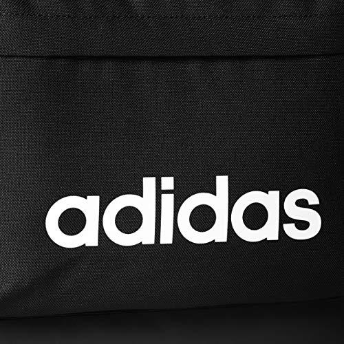 adidas Unisex-Adult Backpack, Black/White - FL3716
