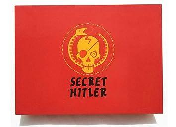 Vjukub Secreto Rojo Hitler Juego De Mesa Anti Humano Tarjeta Secreto