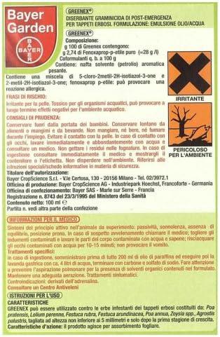 Greenex herbicida graminicida de post emergencia, 100 ml.: Amazon ...