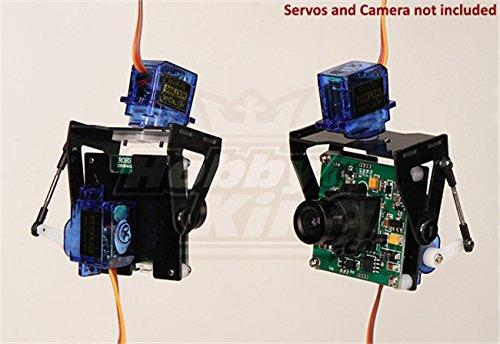 Fpv Fiberglass Pan Tilt Camera Mount L Size Vehicles Parts