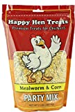 Happy Hen Treats Party Mix Mealworm and Corn, 2-Pound