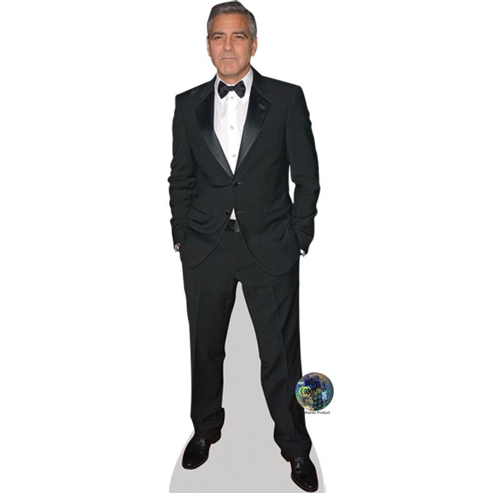 George Clooney (Suit) Life Size Cutout Celebrity Cutouts
