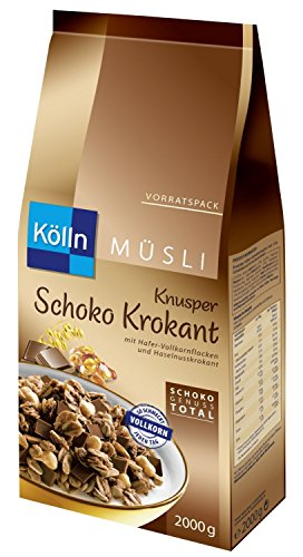 Kölln Müsli Knusper Schoko Krokant, 1er Pack (1 x 2 kg)