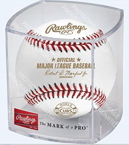 2017 CUBS RING CEREMONY BASEBALL GOLD VERSION RAWLINGS - Baseball Cubs Chicago Cube