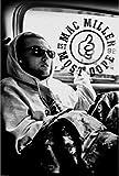 AQUARIUS Mac Miller Black and White Poster