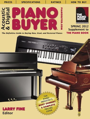 Acoustic & Digital Piano Buyer: Supplement to The Piano Book, Spring 2012 -  Fine, Larry, Teacher's Edition, Paperback
