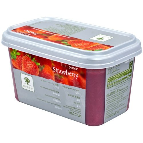 Strawberry Puree - 1 tub - 2.2 lbs