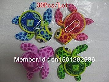 Amazon.com : Wholesale 30Pcs/Lot 4 Colors Big Eye Sea Turtle Plush Toy  Pendant Children Gift Car Home Decor Promotion Gifts : Baby