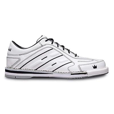 Team Brunswick Mens Bowling Shoes- White   Bowling