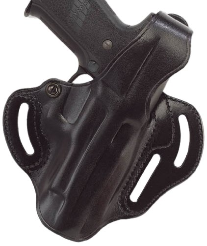(Galco Cop 3 Slot Holster for S&W M&P 9/40 (Black, Right-Hand) )