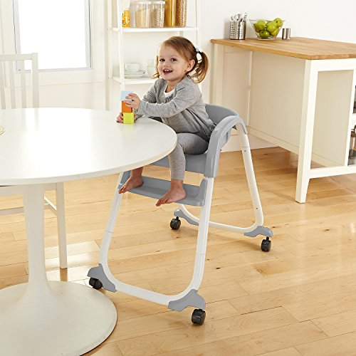 51A OOcX %2BL - Ingenuity SmartClean Trio Elite 3-in-1 High Chair - Slate - High Chair, Toddler Chair, & Booster