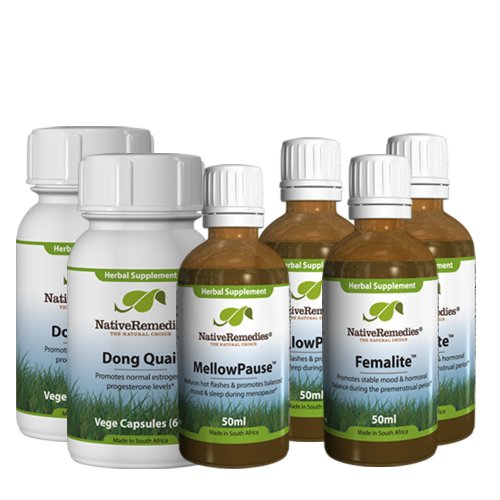 Native Remedies Complete Menopause Program for Menopause and PMS Relief
