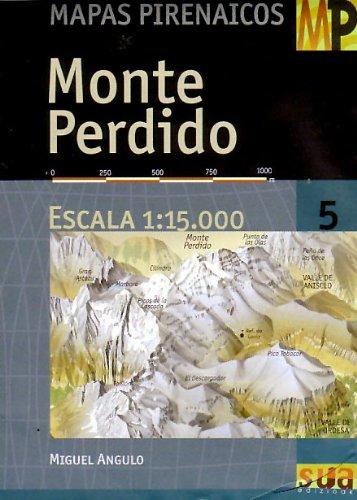 Monte Perdido (Mapas Pirineos) por Angulo Bernard, Miguel