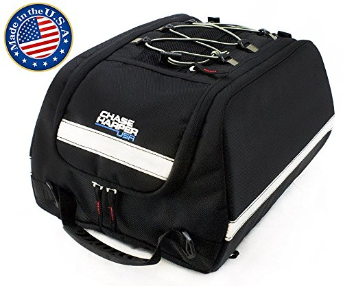 Chase Harper 4000 Aeropac Tail Trunk - Water-Resistant, Tear-Resistant, Industrial Grade Ballistic Nylon with Adjustable Bungee Mounting System for Universal Fit, 14