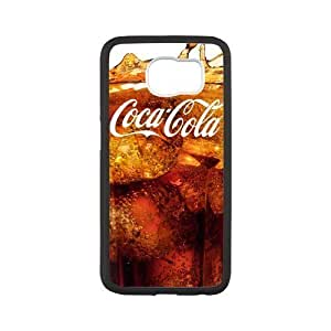 Custom Coca Cola Drink Design PC and TPU Phone Case Cover Laser Technology for SamSung Galaxy S6