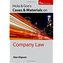 Hicks and Goo's Cases and Materials on Company Law