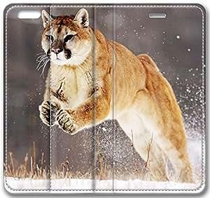 Animales pumapor para iPhone 6 Plus 13,97 cm (compatible con Verizon, AT & T, Sprint, T-mobile, desbloqueado, Internatinal)