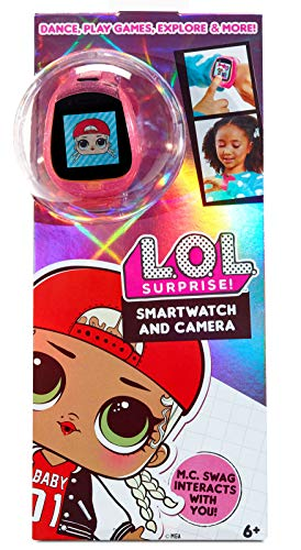 LOL Surprise Smartwatch and Camera for Kids with Video – Fun Game Activities, Learning Apps, Fashionable Accessory, Fun…