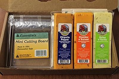 Cheese Sampler With Mini Cutting Board