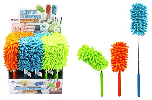 DollarItemDirect Extendable Microfiber Duster with Flex End, Case of 80
