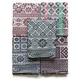 Gangji Textile Showroom Sholapuri 100% Cotton Chadar Pack (Multicolour)