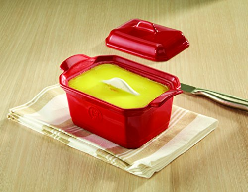 Emile Henry 119706 France Ovenware Terrine & Press, Small, Flouro by Emile Henry (Image #3)