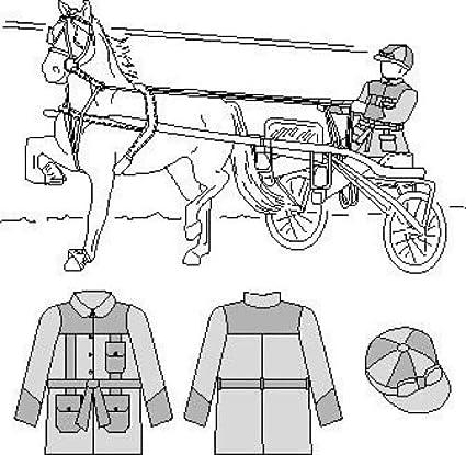 Amazon Com Suitability 6800 Roadster Silks Equestrian Sewing