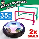 Sixone Kids Toys Hover Soccer Ball Sport Toys Set 2 Goals Indoor Outdoor