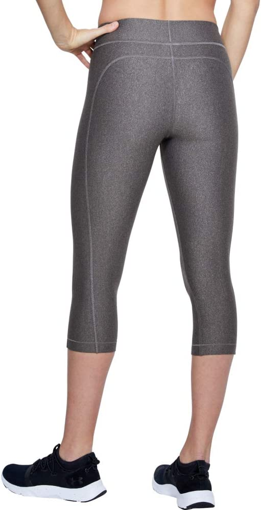 Fast-Drying Workout Leggings for Women Women Under Armour UA Heatgear Three Quarter Leggings Made from Ultralight Fabric