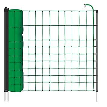 Filet de clôture électrique 12 m H : 65 cm vert VOSS.farming 9 ...
