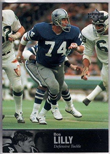 (Football NFL 1997 Upper Deck Legends #46 Bob Lilly Cowboys)