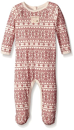 99cab6ee0262 Amazon.com  Burt s Bees Baby Baby Girls  Organic Fair Isle Union ...