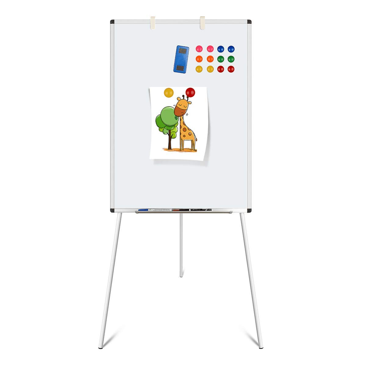 Dry Erase Board, Magnetic Whiteboard with Tripod