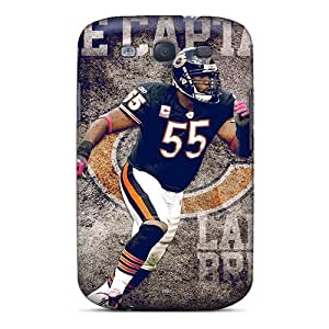 Fashion REm4125ublO Case Cover For Galaxy S3(chicago Bears)