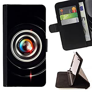 BETTY - FOR Samsung Galaxy S3 Mini I8190Samsung Galaxy S3 Mini I8190 - Colorful Lens Flare Close Up - Style PU Leather Case Wallet Flip Stand Flap Closure Cover