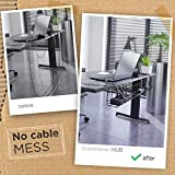 Under Desk Cable Management Tray - Under Desk Cable