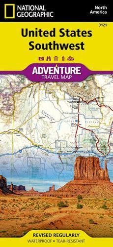 United States, Southwest (National Geographic Adventure Map)