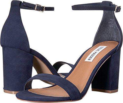 - Steve Madden Women's Declair Dress Sandal, Navy Nubuck, 8.5 M US