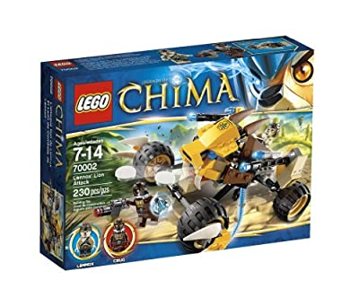 Lego Chima Lennox Lion Attack 70002 from LEGO