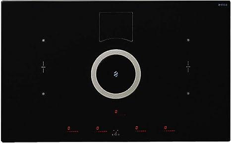 Elica placa de cocciòn con campana NIKOLATESLA SWITCH PRF0146216-Blanco- Extractora: Amazon.es: Hogar