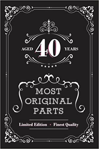 Amazon Aged 40 Years Most Original Parts Journal For Women